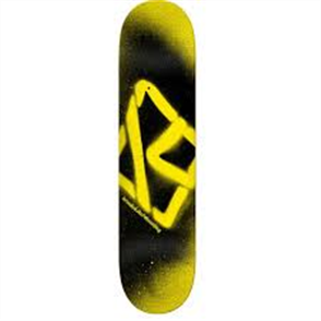 KROOKED Deck Price Point Spray Yellow