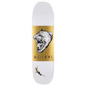 Welcome Tasmanian Angel 8.25 Son Of Moontrimmer Deck, White Gold