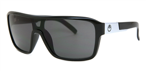 Dragon Remix LL Sunglasses, Black/ Smoke