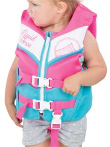 Liquid Force Junior Dream Cga Infant Vest,  Blue Pink