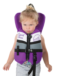 Liquid Force Junior Dream Cga Infant Vest, Purple