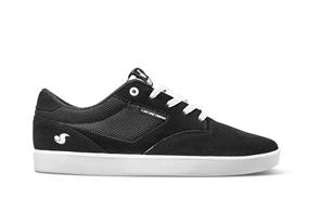DVS Pressure SC+ Shoe, 006 Black White Suede Chico