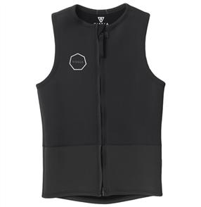 Vissla Front Zip Vest, Black