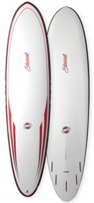 Stewart Hydro Hull Fun Tuflite Pro Carbon Surfboard 7'6