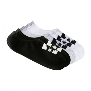 DC SPP DC Ankle Sock 5 Pairs Mens, Assorted