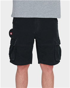 Element Mens Source Cargo Short, Black