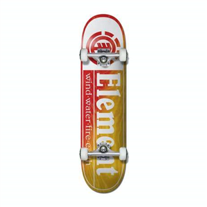 Element SECTION YELLOW RED 8.0 Skate Complete