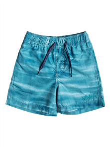 Quiksilver Acid Volley Boy's Boardshort, Ocean Blue