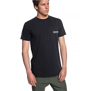 Quiksilver The original mountain wave Mens Tee, Black