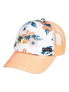 Roxy HONEY COCONUT GIRLS CAP, Bright White Waii