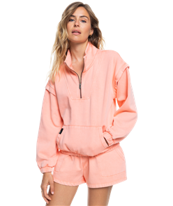 Roxy LOCALS ONLY FLEECE, FUSION CORAL