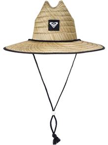 Roxy TOMBOY 2 STRAW HAT, TRUE BLACK