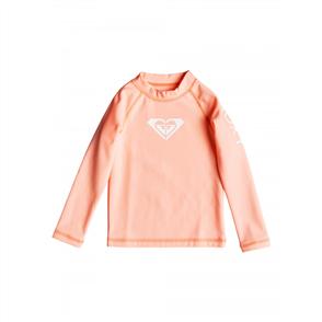 Roxy Girls 2-7 Heater Long Sleeved Upf 50 Rash Vest, Souffle