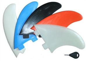 Curve Nylon Thruster N5 Fin Set, Black