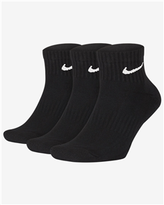 Nike SB Everyday Ankle Cushioned Sock, Black