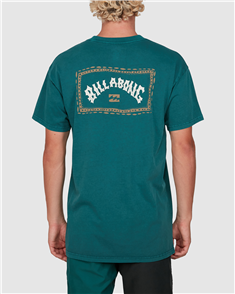 Billabong DREAM TIME ARCH SS TEE, DEEP TEAL