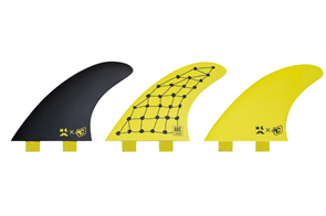 Creatures Of Leisure Mitch Coleborn Arc Dual Tab Fin, Yellow