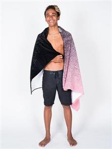 LEUS 100% Cotton Print Beach Towel, Faded
