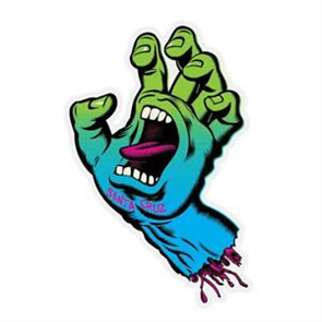Santa Cruz Fade Hand Sticker 5inch