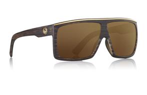 Dragon Fame Sunglasses, Matte Woodgrain Copper Ion