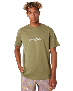 The Critical Slide Society Institute Tee, Olive