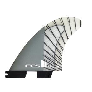 FCS II Reactor PCC Carbon Charcoal Large Tri Retail Fins