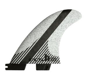 FCS FCS II FW PC Carbon White Medium Tri-Quad Retail Fins
