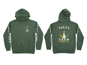 Salty Crew Fishtail Boys Fleece, Alpine Green