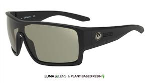 Dragon Flash LL Porlarized Sunglasses, Matte Black/ Smoke