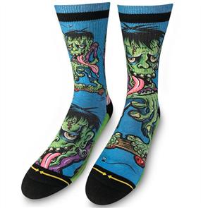 Merge4 Mens Caballero -  Frankenskate Mens Socks