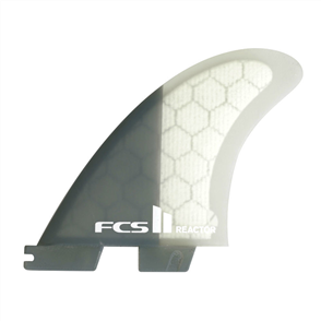 FCS II Reactor PC Charcoal Medium Tri Retail Fins