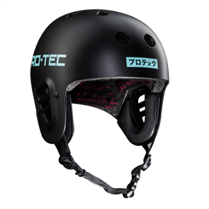 Protec Full Cut Sky Brown Certified Helmet, Black