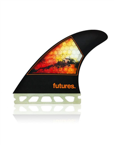 Futures Jordy Smith Honeycomb, Black-Orange