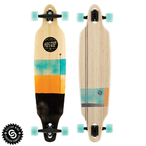 "Sector 9 Longboards Lookout (41.125"" x 9.625"" WB - 31.5"") - Geo"