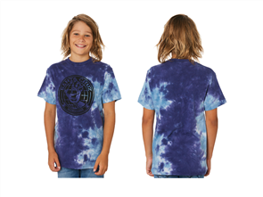 Santa Cruz Global Hand Tie Dye Tee - Youth, Night Sky