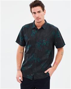 Globe Appleyard Howler Short Sleeve Shirt, Weed