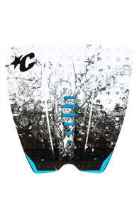 Creatures Of Leisure Mick Fanning Tail Pad, White Fade Cyan
