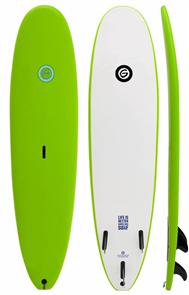 Gnaraloo Beach Cruiser Surfboard, Lime