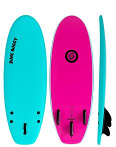 Gnaraloo Dune Buggy Softboard, Torq Pink