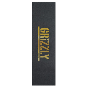 Grizzly Grip Logo Gold Stamp