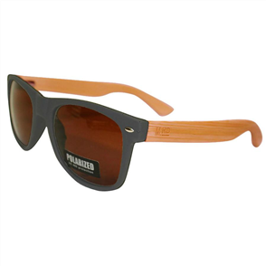 Moana Rd Sunnies, Grey Plain Arms Brown Lens
