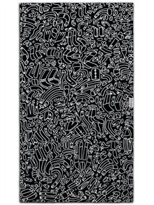 LEUS 100% Cotton Print Beach Towel, Gus Gus