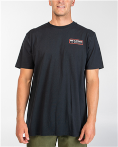 The Mad Hueys THE RETRO CAPTAIN TEE, BLACK