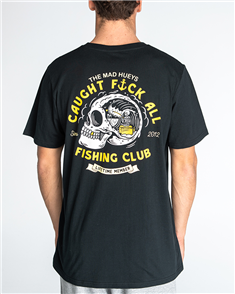 The Mad Hueys FK ALL CLUB TEE, BLACK