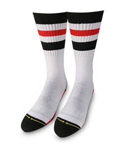 Merge4 Mens Haven Tall White Mens Socks