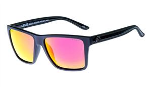 Liive Hazza - Mirror Polarized Sunglasses, Twin Blacks