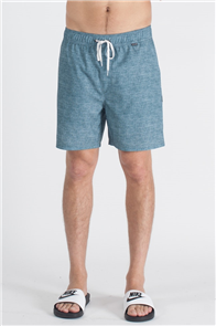Hurley Heather Volley 17 Inch Boardshort, Celestial Teal