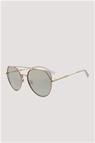 KENDALL + KYLIE HELENE  Sunglasses, Shiny Light Gold