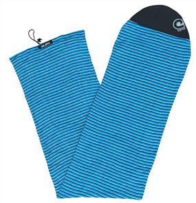 Curve Surfboard Socks - Longboard Fish, Green Horizon