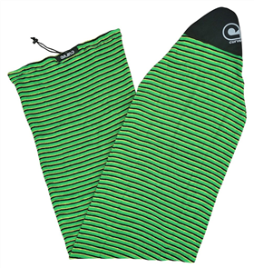 Curve Surfboard Socks - Fish, Green Horizon